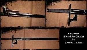 Sword Art Online - Elucidator by Shadica1stClass