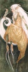 An Elf Moon by willowdream