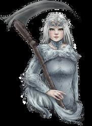 Crossbreed Priscilla - Dark Souls by willowdream