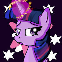 Twilight Sparkle (MLP) by KittyCat-Painting