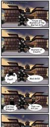 Ninjas Vs. Pirates by pkeiselt