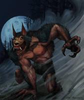 Werewolf by NickMarandola