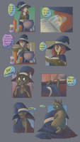Witch transformation for FalloutCoyote by FauvFox
