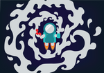 Little Forgotten Spaceman by kovaja8