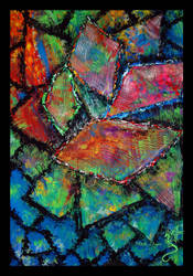 Multicoloured Glass by DragonOfLust