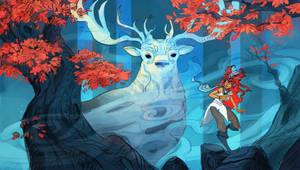 Forest Spirit by ApollinArt