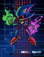 Metal Sonic-Chaos Control by BaneNascent