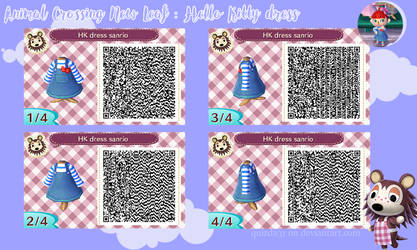 Animal Crossing New Leaf Sanrio dress by quizda31