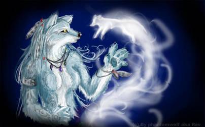 Smoke Spirit by Phantom--Wolf
