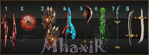 [CLOSED] Custom Weapons Slots 5 by MhaxiR