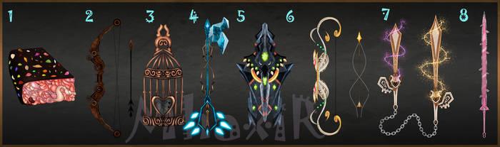 [CLOSED] Custom Weapons Slots 6 by MhaxiR
