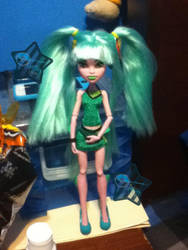 Dragon girl custom by bluerage10