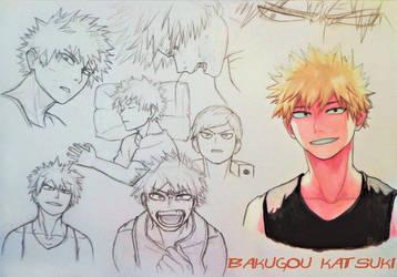 Bakugou Katsuki by Anaitmarihel