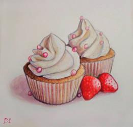 Cupcakes by Anaitmarihel