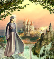ALFHEIM - The realm of the Light Elves by nrcArt