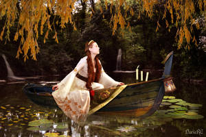 The Lady of Shalott. Looking for Lancelot. by nrcArt