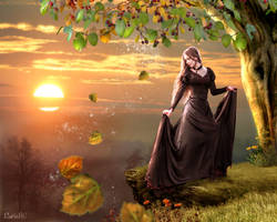 The Magic Of Autumn Is Comming by nrcArt
