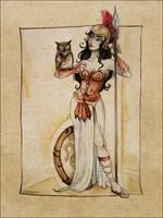 Athena by Gailenquen