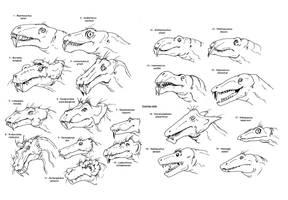 AllInTheFamily - Biarmosuchia by Jurassic-Gothic