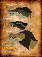 Gondwana Demonic Trio by Jurassic-Gothic