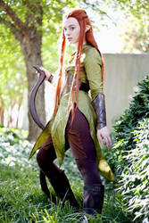 Tauriel Preview from Dragon*Con by KrazedChaos