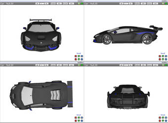 [MMD] Sports Car - Lamborghini Aventador (WIP) by arisumatio