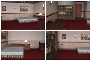 MMD Play Club Bedroom by arisumatio