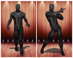 [MMD] Black Panther Civil War by arisumatio