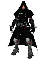 [MMD] Overwatch Reaper Unmasked by arisumatio