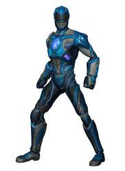 [MMD] PRLW Billy Cranston (Ranger Blue) by arisumatio