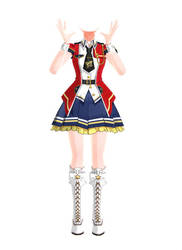 [MMD] Million Live! - Outfit 01 by arisumatio