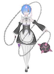 [MMD] Re Zero - Rem Oni Form by arisumatio