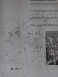 MLP: Equestria Girls - Rarity and Suri Polomare by RUNEPATRIARCH