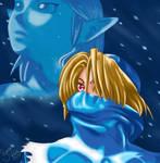 Shiek and Zelda by sassie-kay