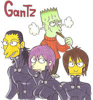 Simpsons Gantz by GantzAistar