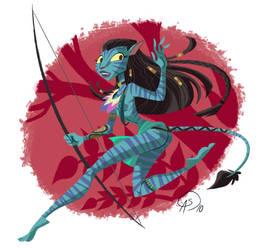 Avatar Neytiri by GantzAistar