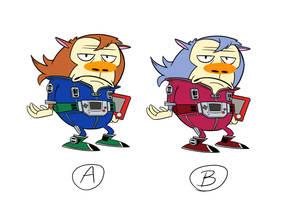A or B by GantzAistar