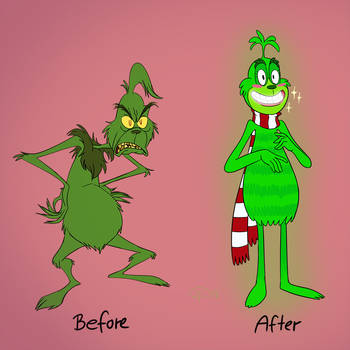 grinch makeover by GantzAistar