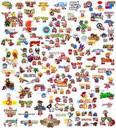 The 179 faces of Kirby by Buci01
