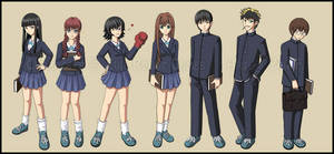 School uniform group by Neurophoria