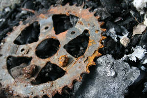 Rusted Gear Stock by AliDee33
