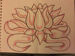 Colored Pencil Lotus Stock by AliDee33