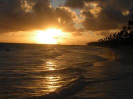 Punta Cana Sunrise Stock Photo by AliDee33