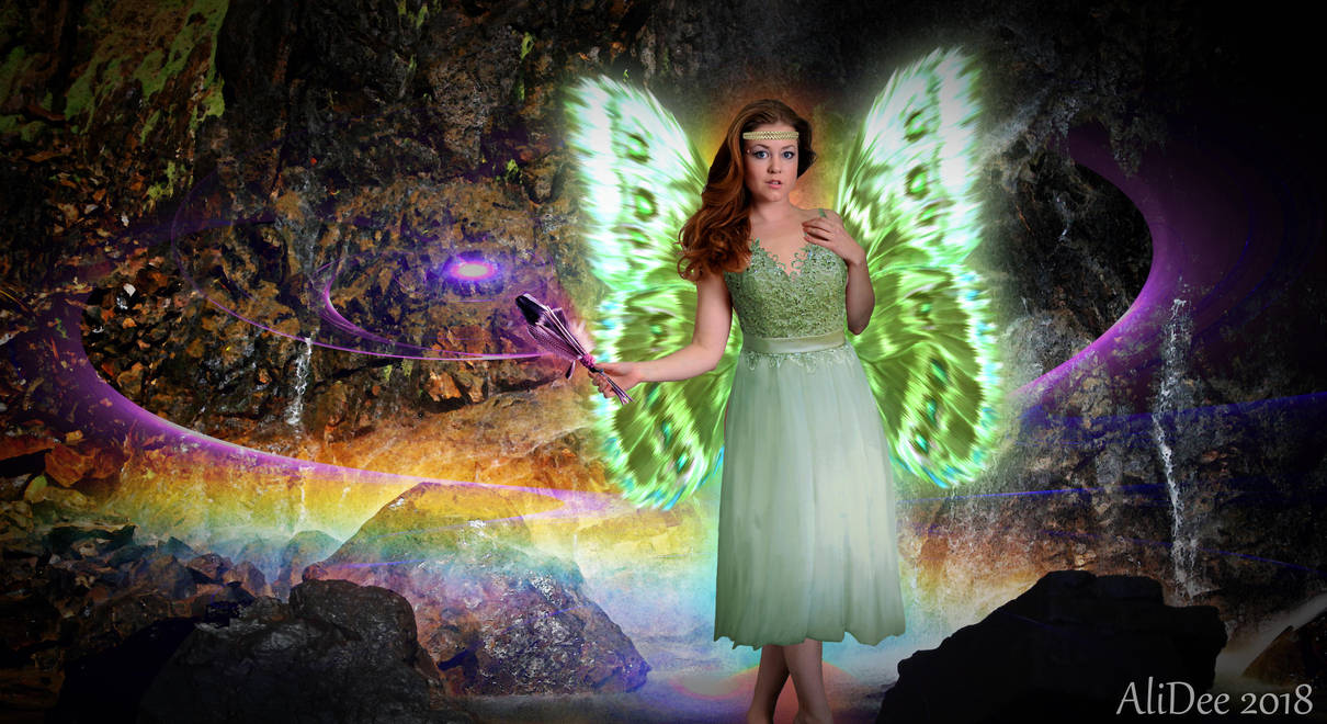 A Fairy and Her Magick by AliDee33