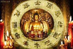 The Golden Buddha by AliDee33