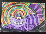 Traditional Cheshire Cat by AliDee33
