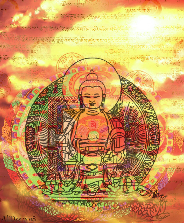 Buddha In The Sun by AliDee33