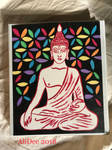 Meditating Buddha by AliDee33