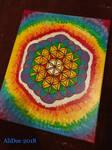 Flower of Life Rainbow Burst by AliDee33