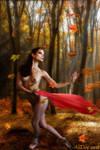 An Autumn Dance by AliDee33